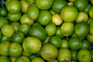 Lime citrus fruit background