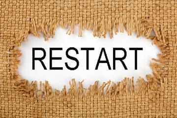 Restart Word Concept