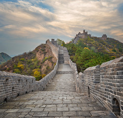 Keuken foto achterwand Chinese Muur The beautiful great wall of China