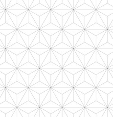 3D triangular, or tetrahedron, pyramids. Seamless vector pattern background.