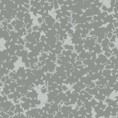 UFO military camouflage seamless pattern in different shades of gray color