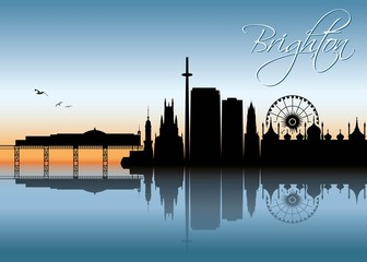 Brighton skyline - Egnland - United Kingdom