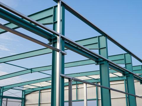 Metallbau - Stahlbau - Hallenbau - Konstruktion