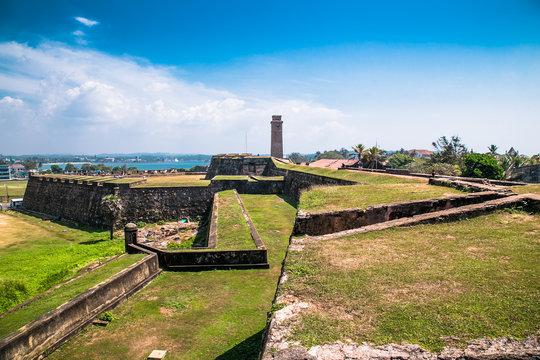 Colonial Dutch fort Galle , Sri Lanka.