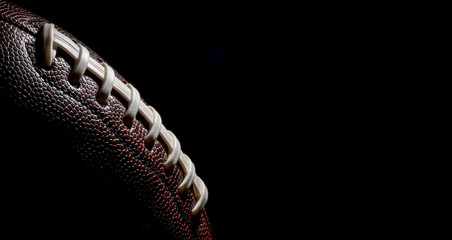 American football Sport on black background Wall mural