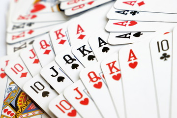 carte da gioco per poker, play cards for poker