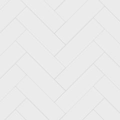 Obraz White herringbone parquet seamless pattern. Classic endless floor decoration. Parquet pattern texture, tile geometric backdrop, vector illustration - fototapety do salonu