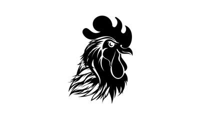 Chicken Logo Vector Illustration,chicken logo design template