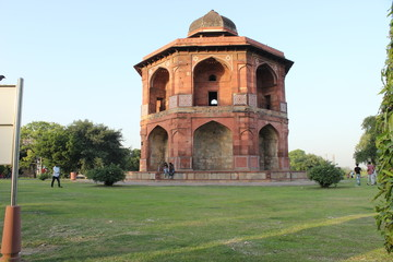 the old fort new delhi india