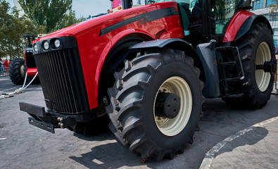 large agricultural tractor