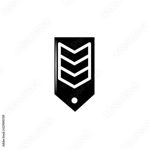 chevron, weapon icon  Element of military illustration