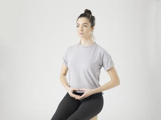 Peaceful Woman Meditation