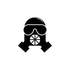 weapon, gas mask icon. Element of military illustration. Signs and symbols icon for websites, web design, mobile app