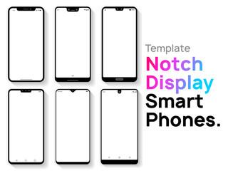 Notch Display Smartphones Template