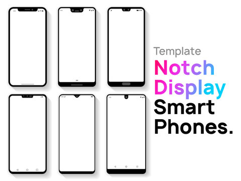 Notch Display Smartphones Template