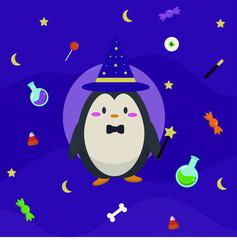 penguin wizard