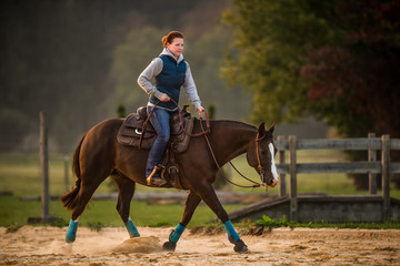 Equitation Outdoor Workout