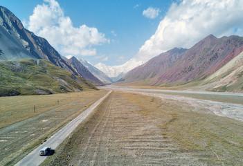 Kyzyl Art Pass between Kyrgyzstan and Tajikistan, taken in August 2018