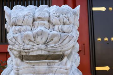 浅草寺の狛犬