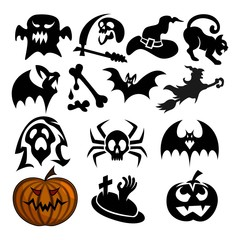 Halloween attribute package, a spooky Halloween attribute package for halloween attributes