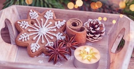 weihnachten gebäck edel verziert