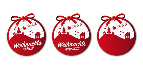 Weihnachten Button Weihnachtsangebote Aktion