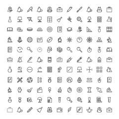 Flat icon set