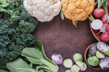 cruciferous vegetables, Vegan, Paleo and ketogenic diet