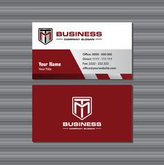 TM Car Auto or Motocycle Business Card
