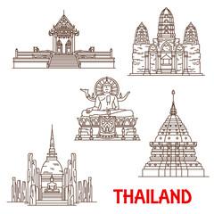 Thailand Samui temples architecture landmarks