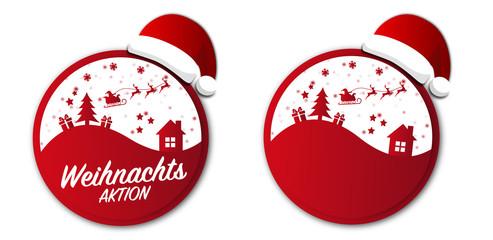 Weihnachten Button