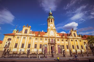 Das Prager Loreto im Sommer, Tschechische Republik