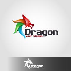 Dragon - animal Logo