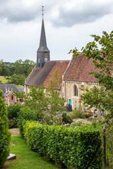 Gonneville sur mer. Eglise Notre Dame de l'Assomption. Calvados. Normandie