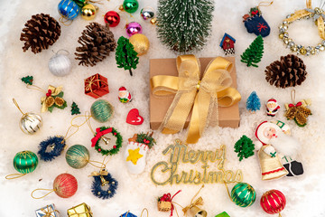Christmas Decoration use for background