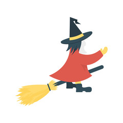witch   scary   mop
