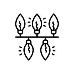 Lights vector icon