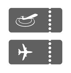 air plane ticket icon