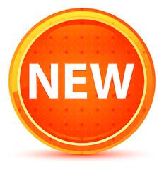 New Natural Orange Round Button