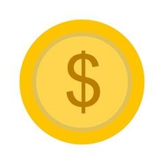 Dollars Ecommerce Flat  Icon