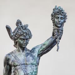 Aluminium Prints Historic monument Perseus and Medusa
