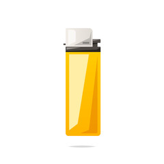 Lighter vector isolated