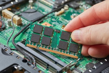 Memory modules for laptops Wall mural