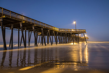 Pismo Beach Pier Blue Hour