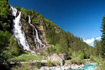 Le cascate del Nardis in Val di Genova nel Trentino