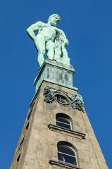 Hercules monument at Kassel closeup