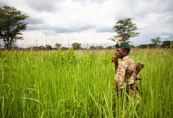 Uganda Wildlife Authority Ranger QENP 4