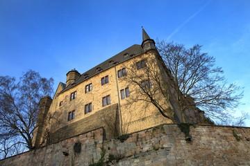 Marburg Ansicht vom Schloß