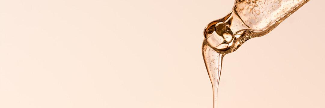 Hyaluronsäure, Pipette, Anti Aging, Kosmetik, Serum, Flüssigkeit,Banner