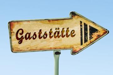 Schild 328 - Gaststätte